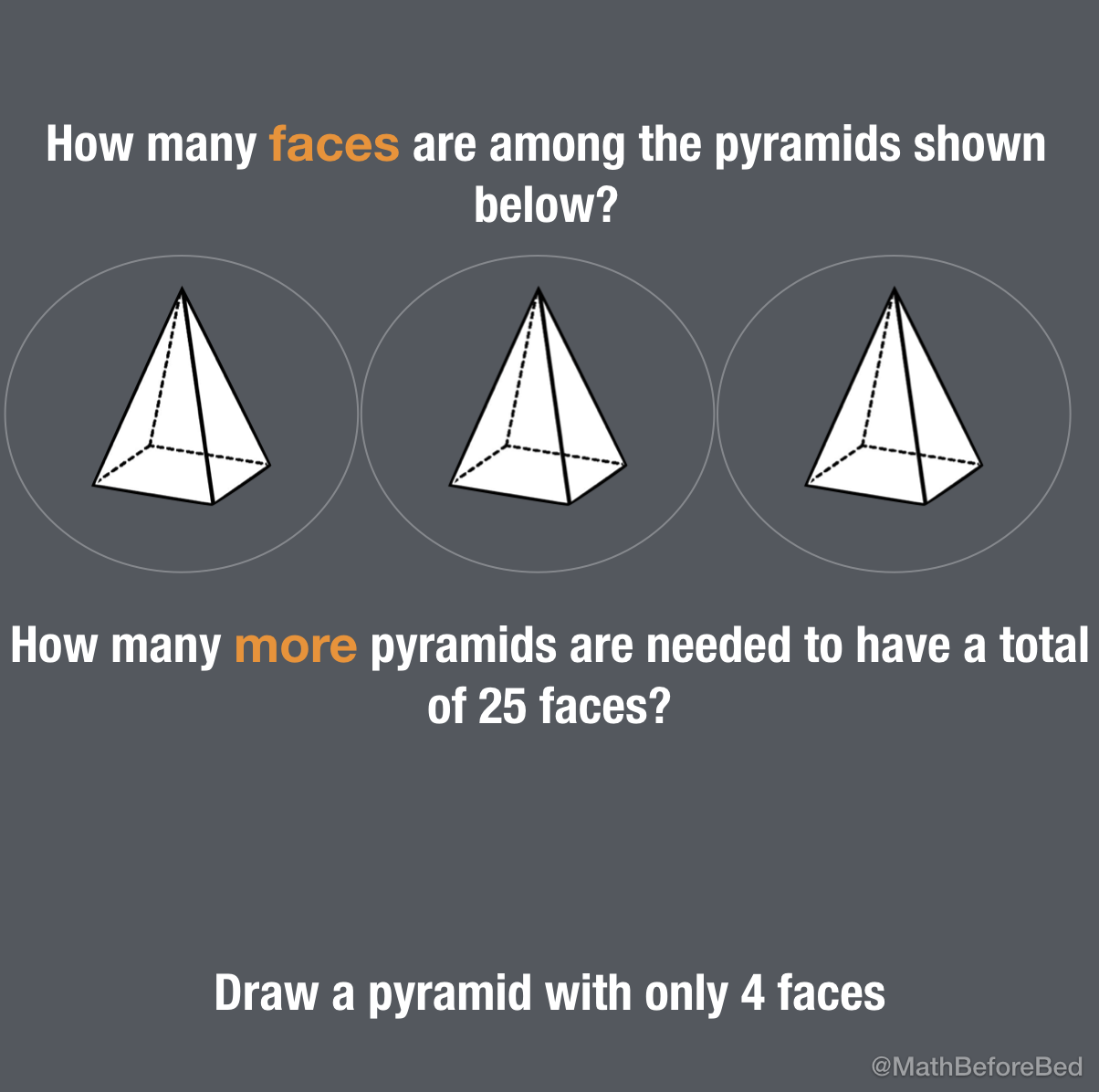 Pyramid Faces