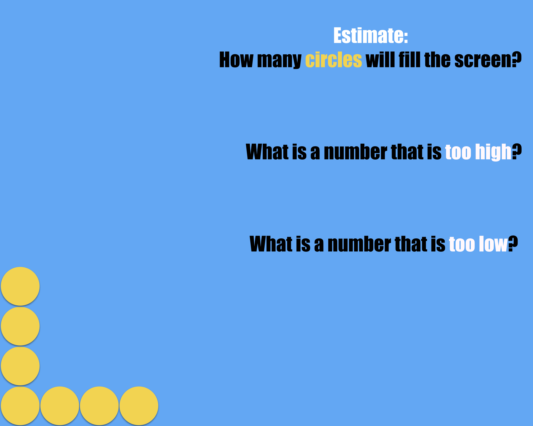 Circle Estimation