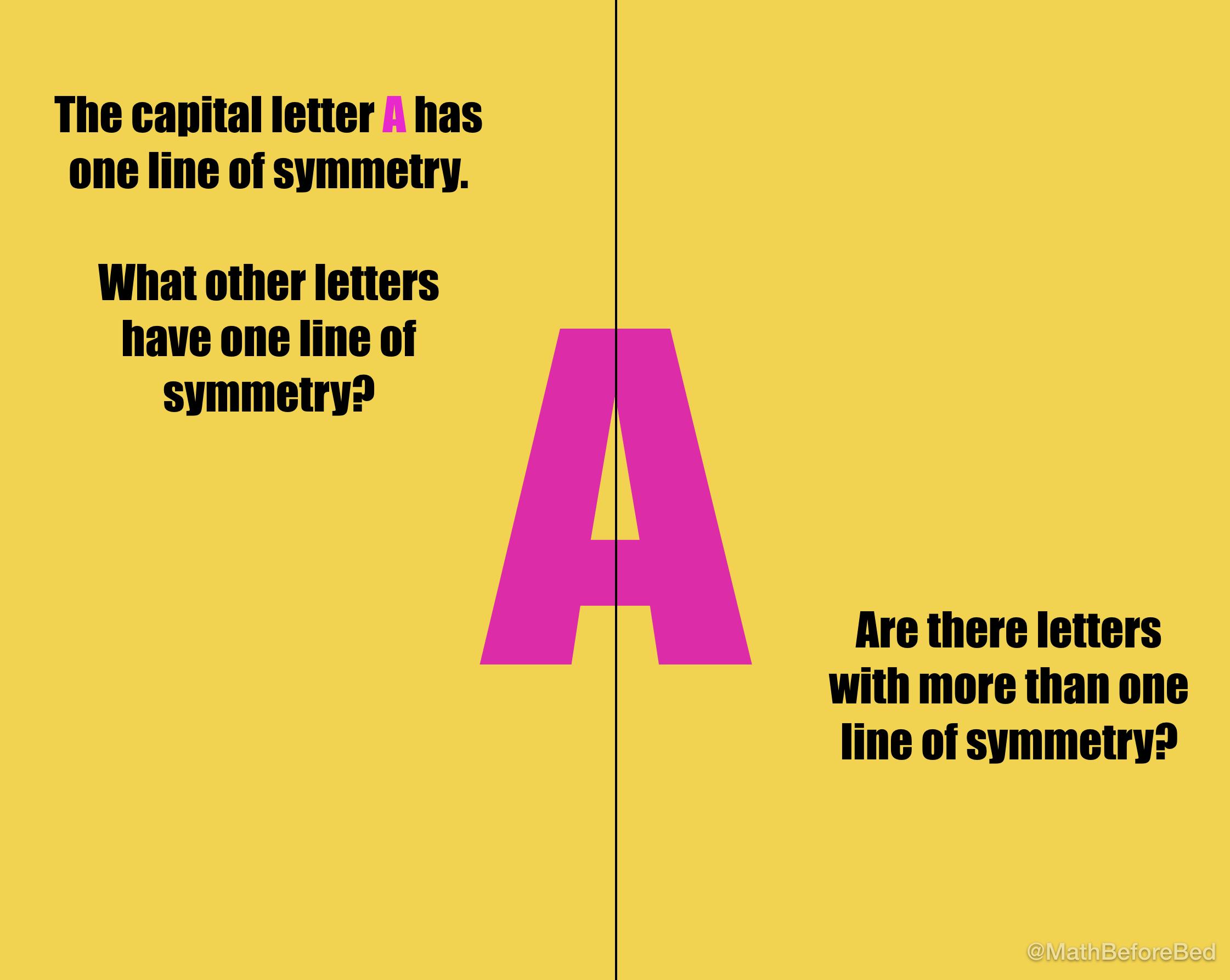 Letter Symmetry