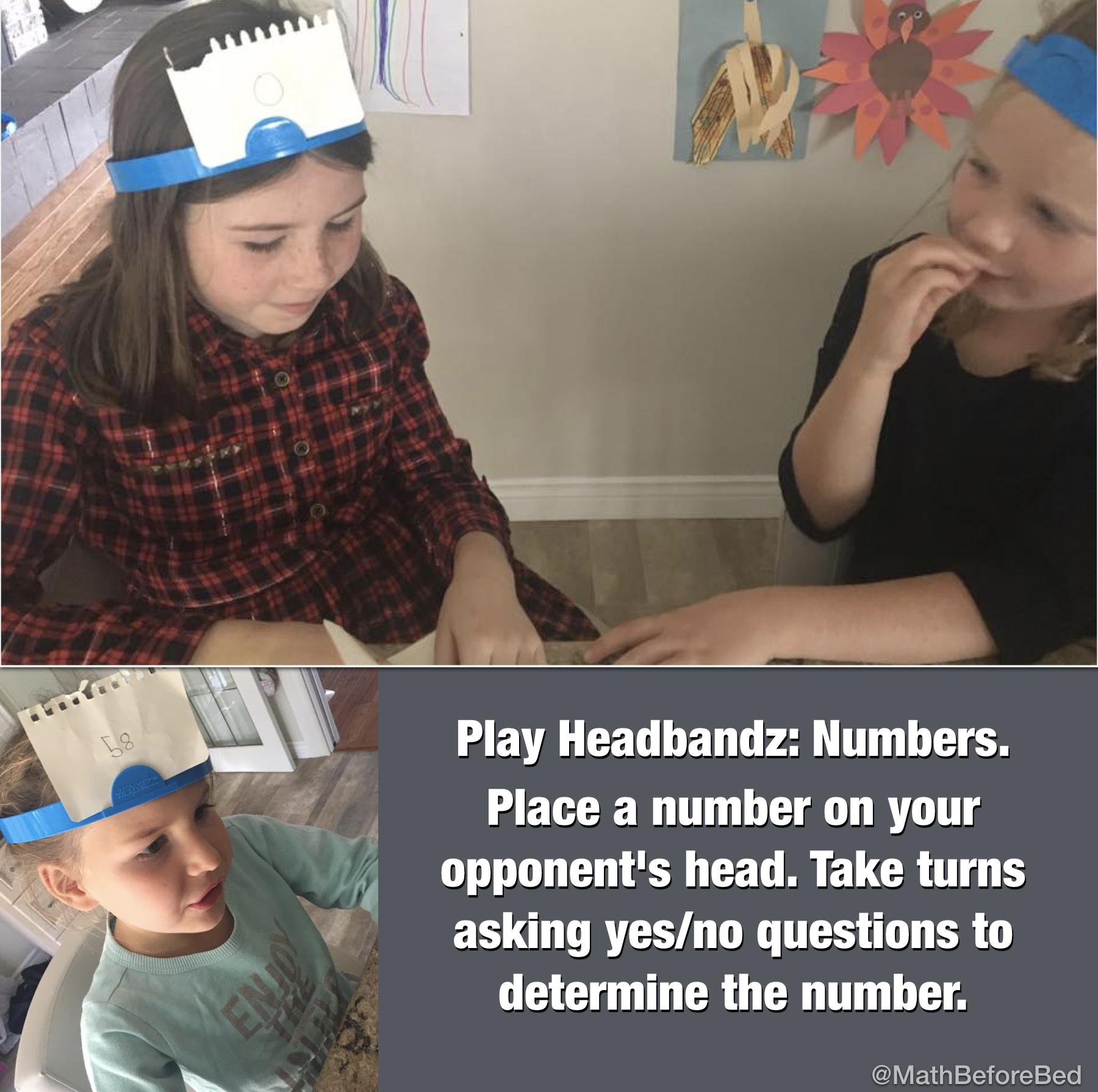 Headbandz: Numbers