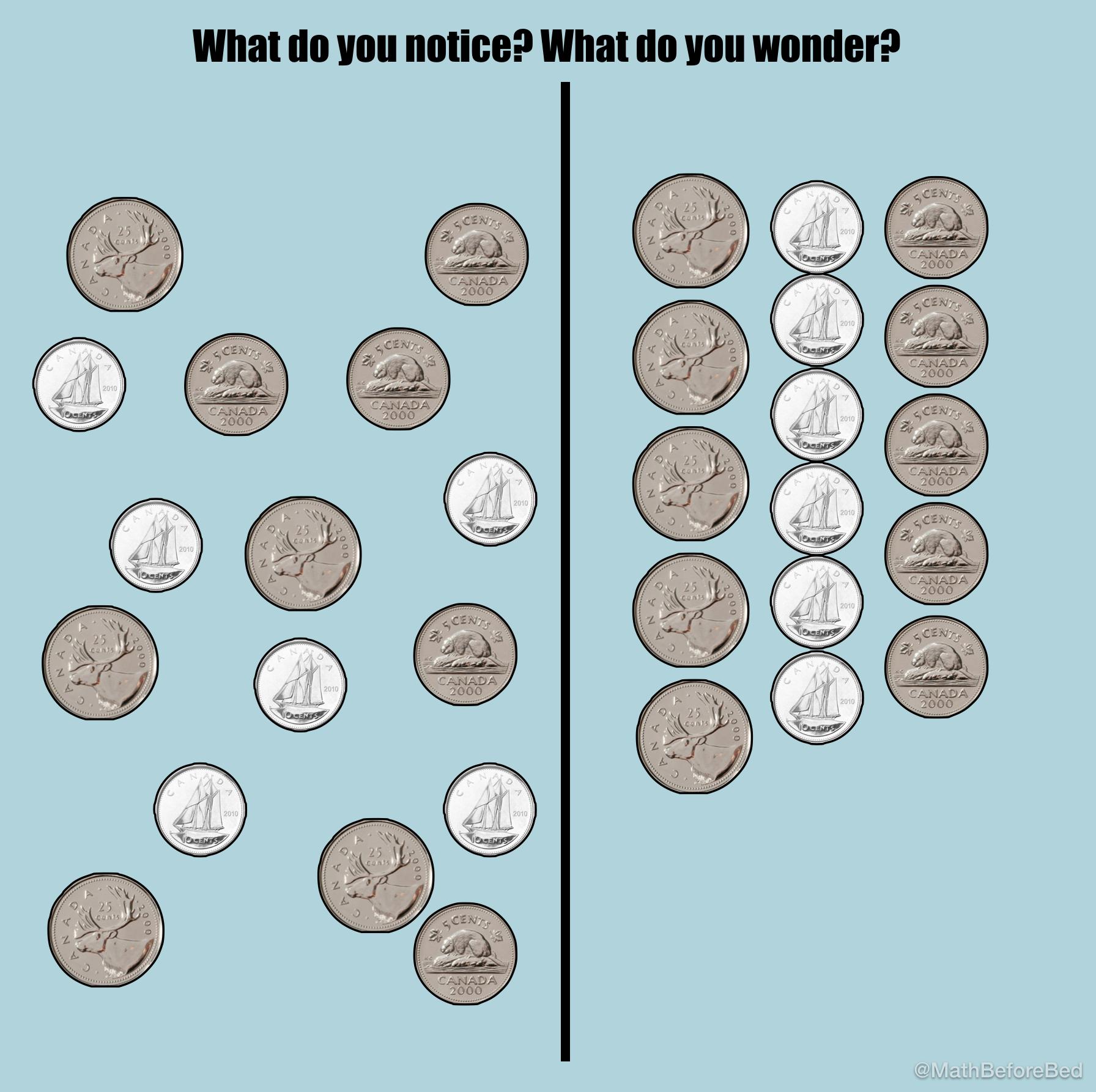 Organized Coins