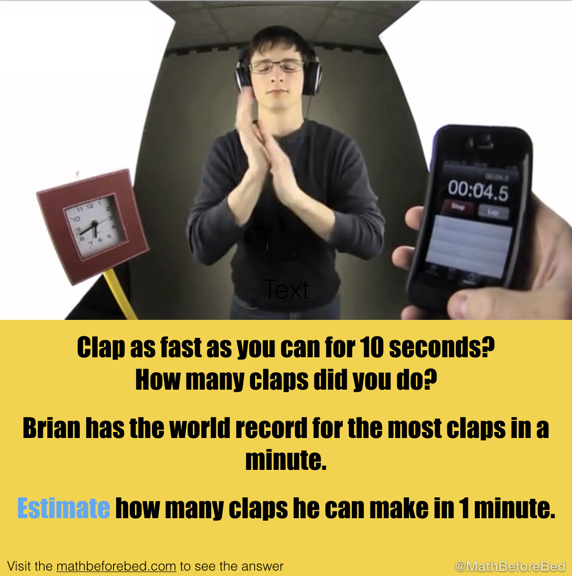 Fast Clapping