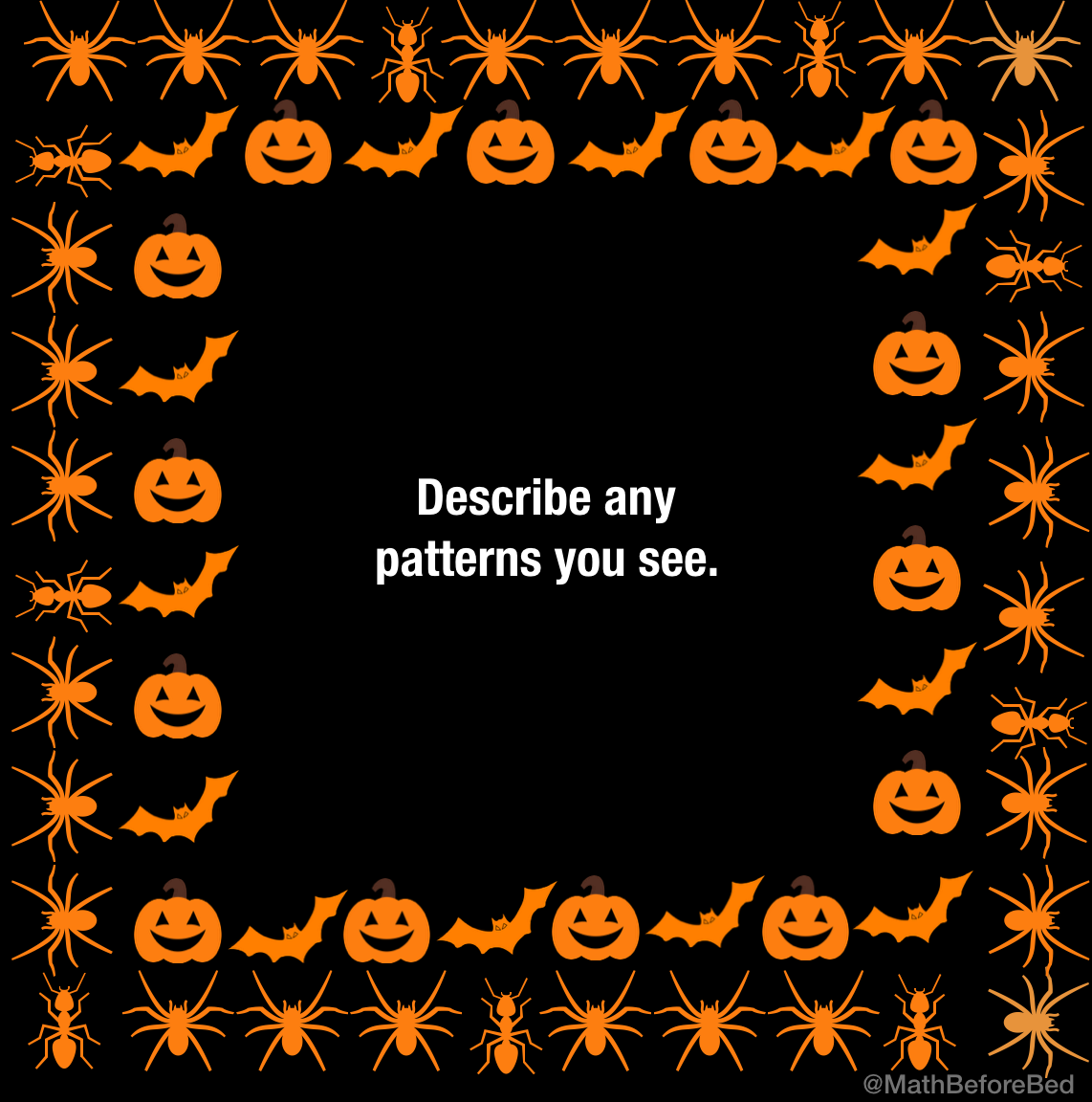 Spooky Patterns